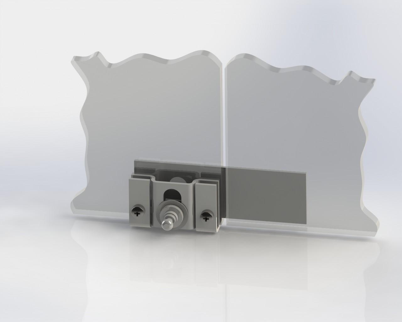 «ШЕРИФ-2М» Фото установки замка на стекло